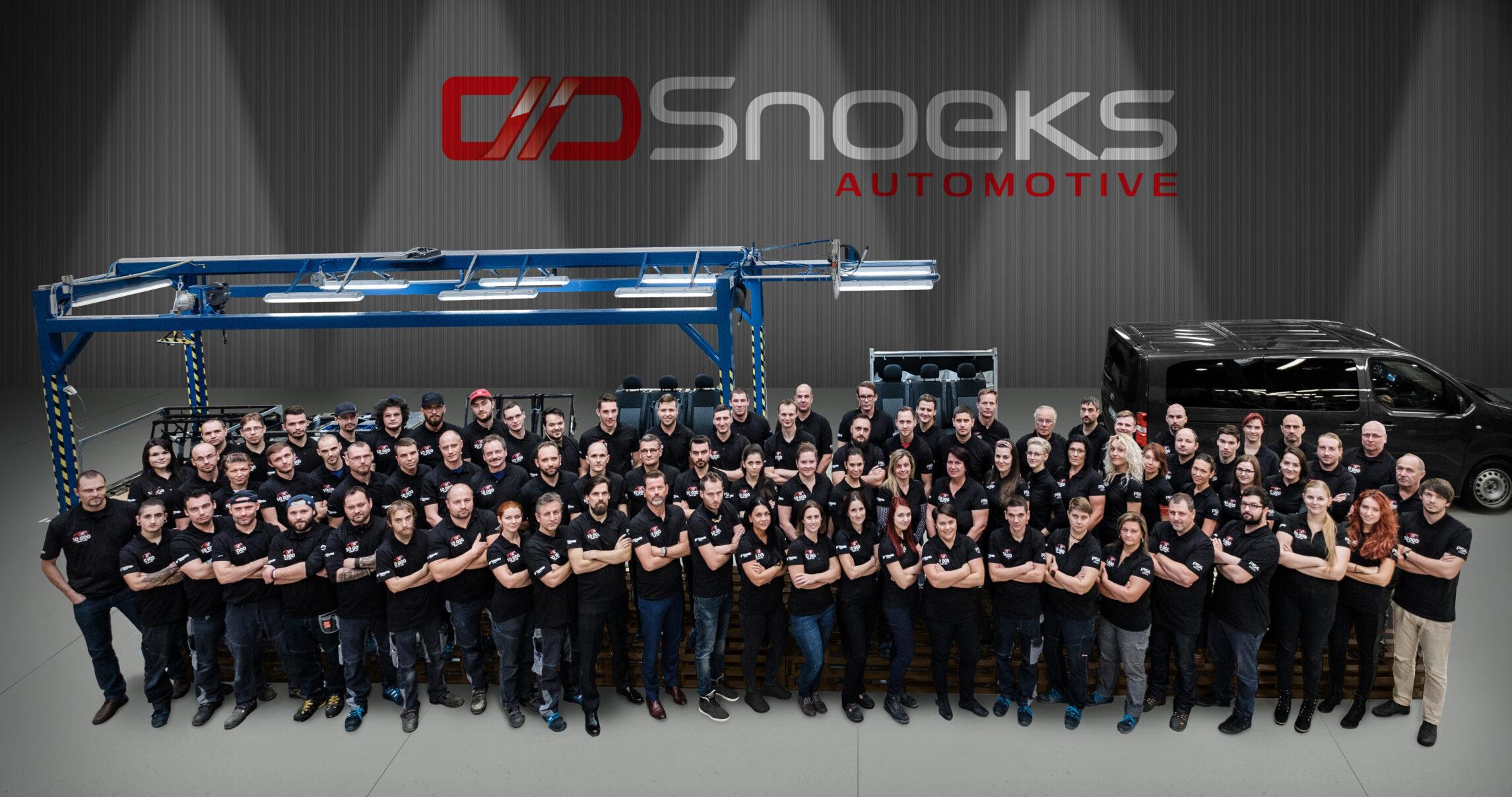 Snoeks Automotive Crew Van supplier