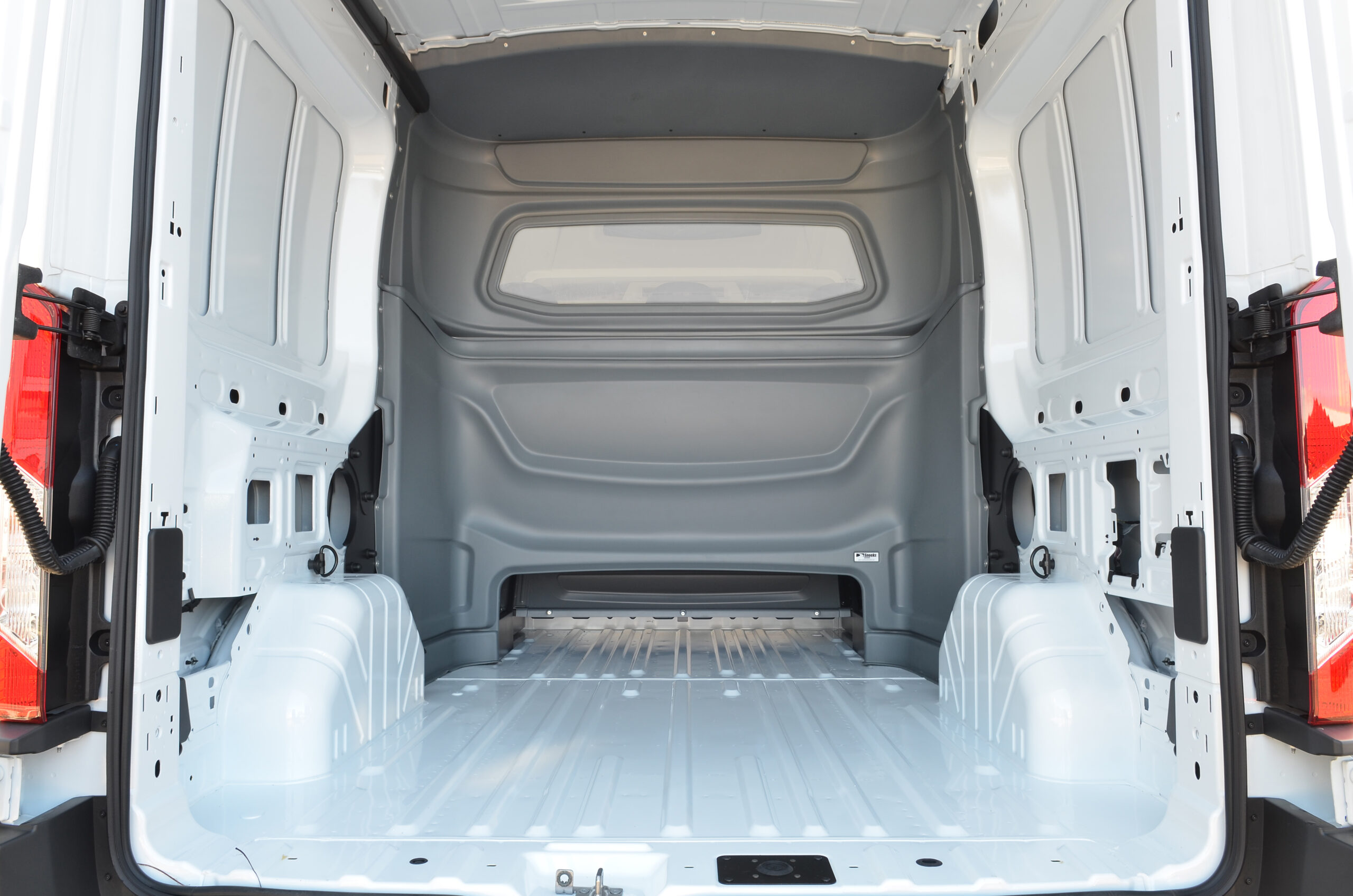 Ford Transit safety partition wall by Snoeks Automotive