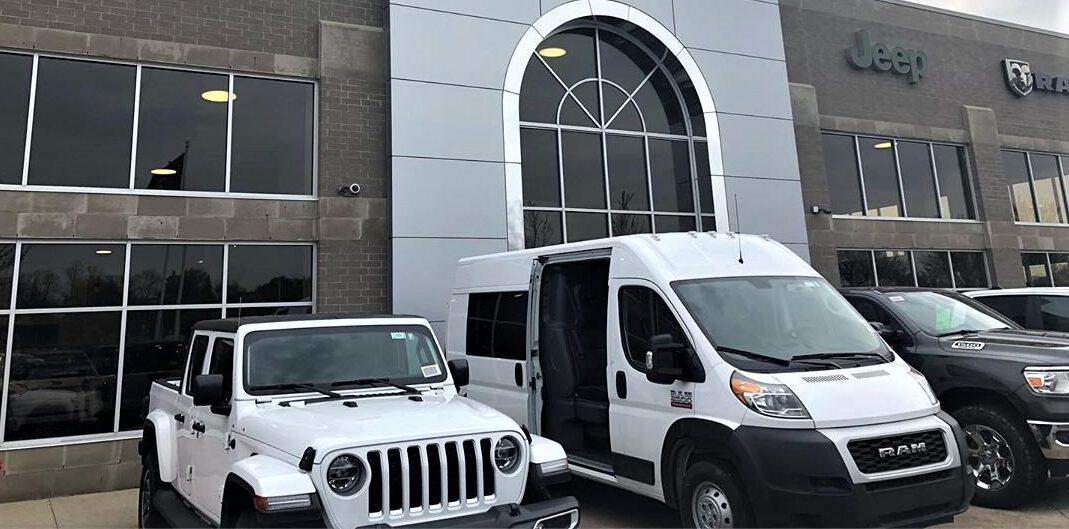First RAM ProMaster Crew Van Sold at dealership