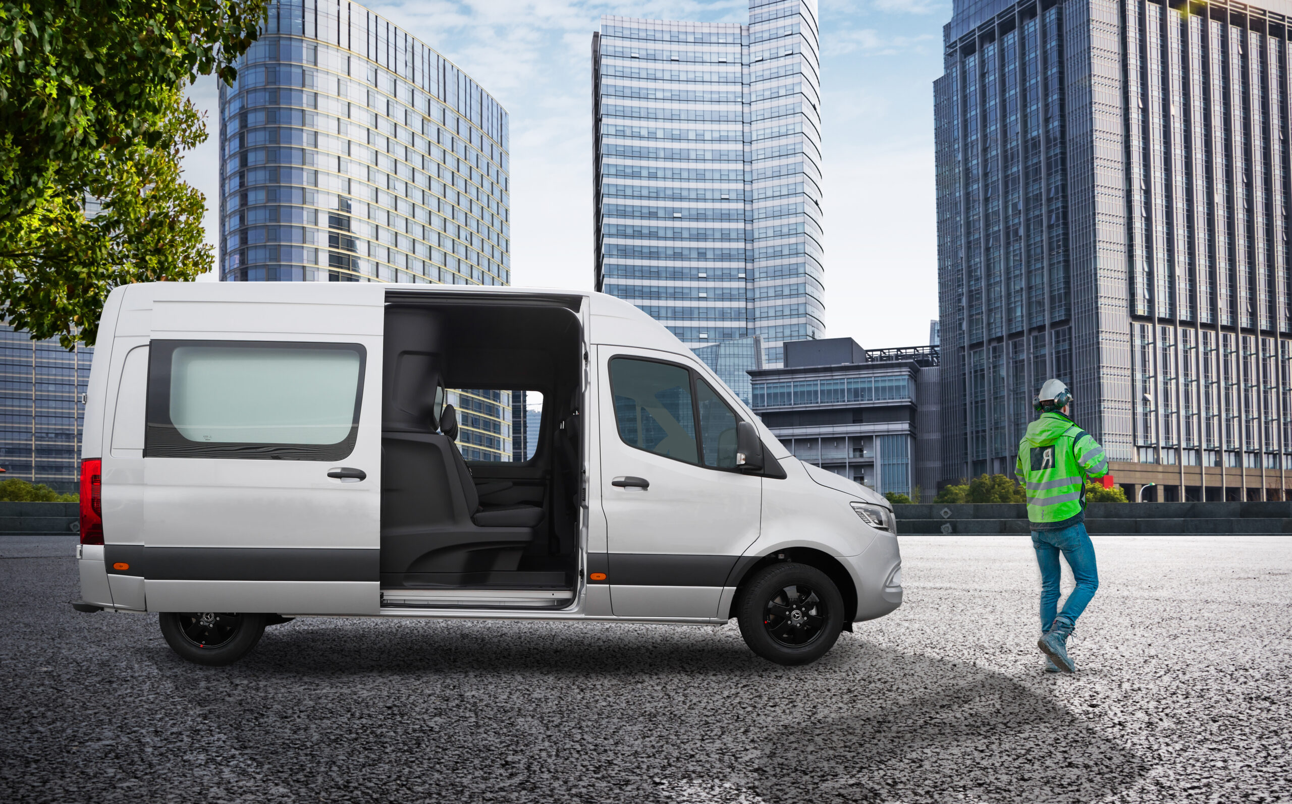 Mercedes-Benz Crew Van kit by Snoeks Automotive