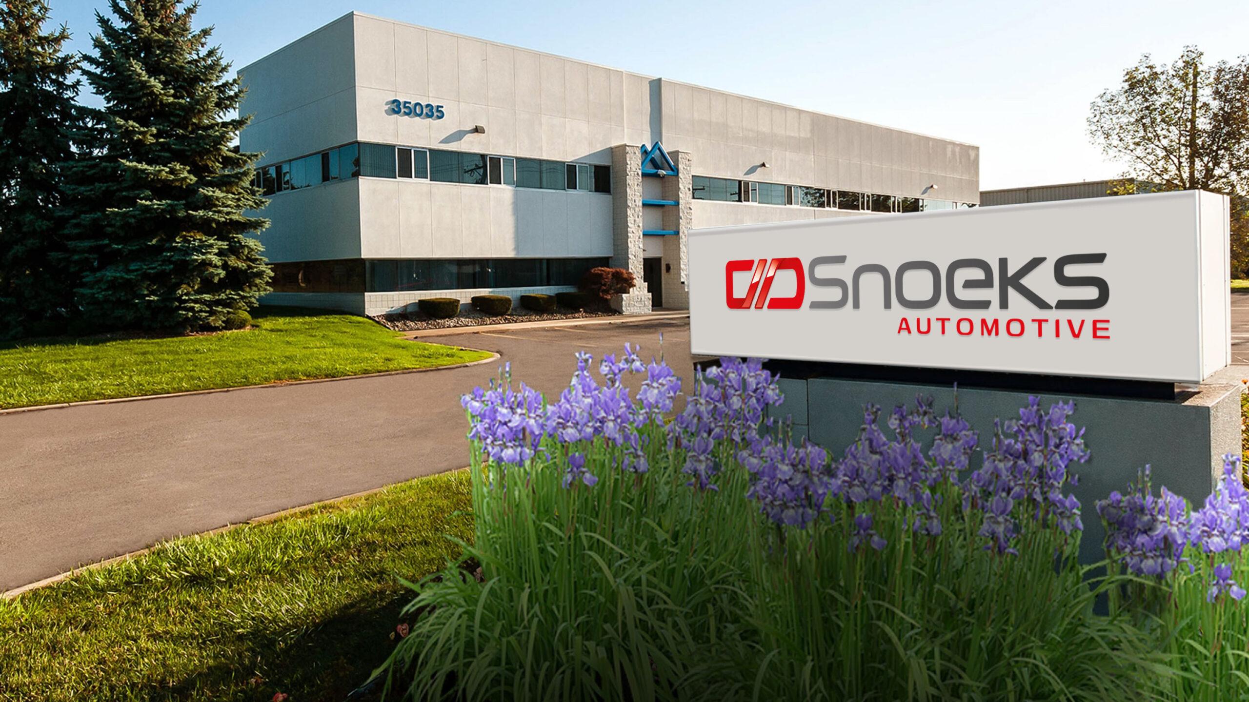 Snoeks Automotive North America Contact us